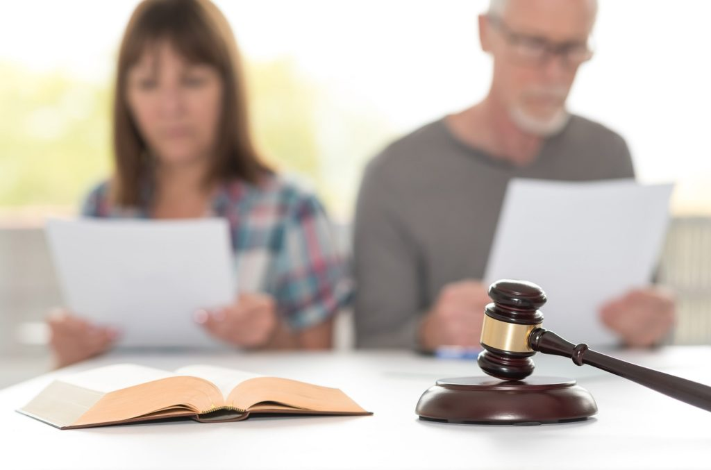 Choosing options for a divorce or separation